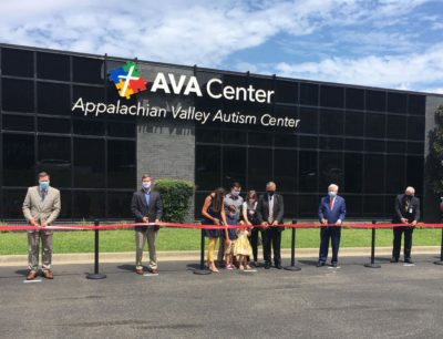 Ground broken for PMC Children's Hospital, ribbon cut for Appalachian Valley Autism Center